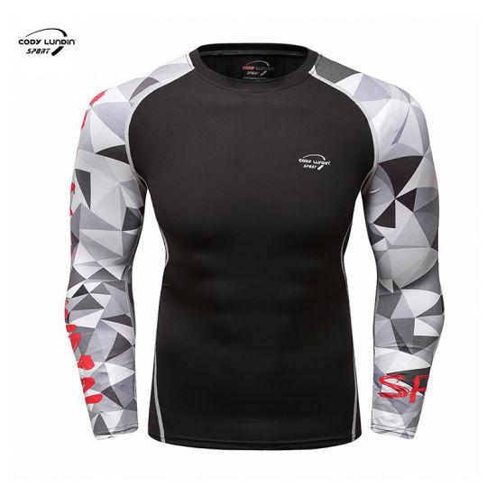 Cody Lundin Custom Logo Drop Shoulder Stretch T Shirt with Letter Printing Custom Online Shop Body Fit T Shirt