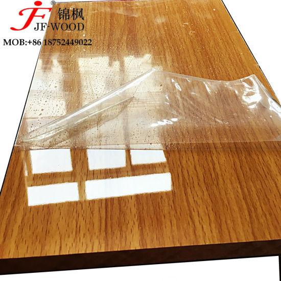High Glossy UV Coated Cabinet Used MDF Plate Board