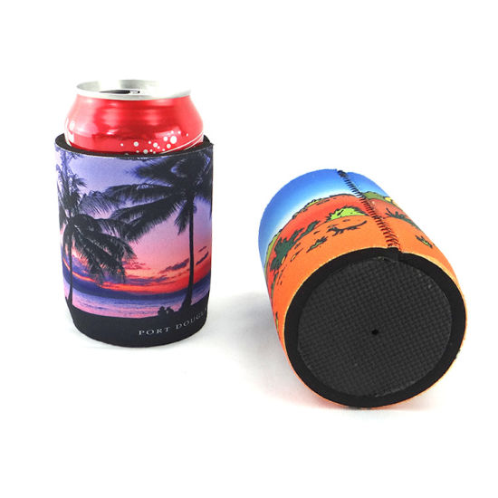Personalised Promotional Cheap Printing Drink Bottle Cooler Bag, Wedding Custom Made Printed Logo Beer Can Wine Stubbie /Stubby Holder for Australia