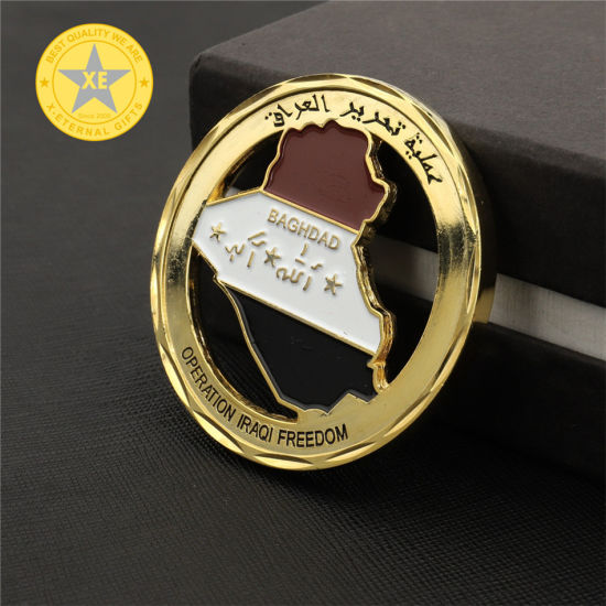 Wholesale Custom Design Shiny / Matte / Antique Metal Coin pictures & photos