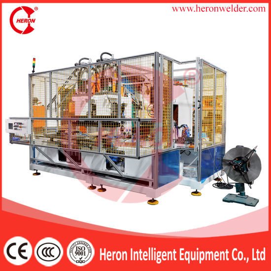 Automatic 6000j Capacitor Discharge Welder for Stainle Steel Strip Welding