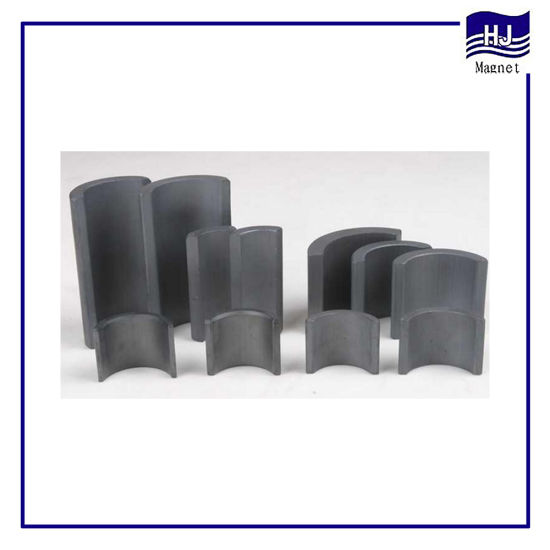 Popular Watt Permanent Arc Sintered Ferrite Magnet for Motor