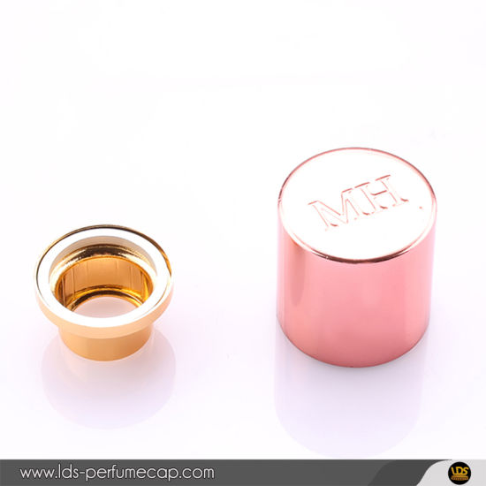 Shiny Pink Magnetic Perfume Bottle Cap for Fea15