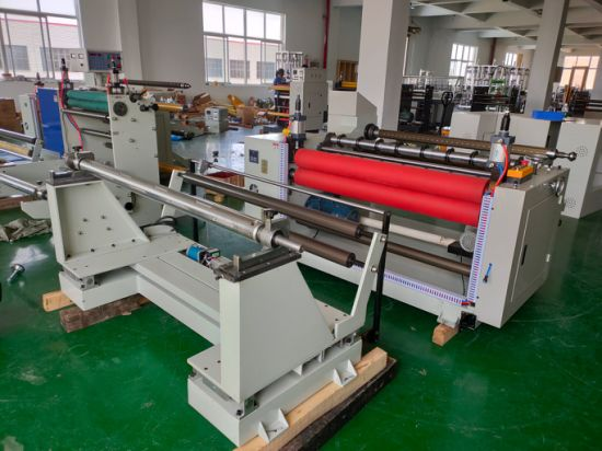Meltblown Fabric Automatic Length Counting Blowing Slitting Machine