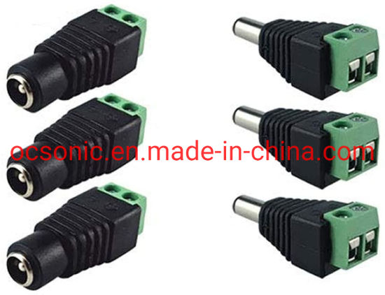 DC Power Connector with Screw Terminal