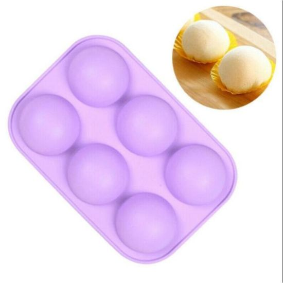 Silicone Half Sphere Silicone Soap Molds Bakeware Cake Decorating Tools