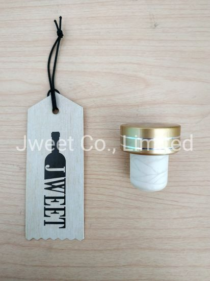 Custom Bottle Cap T Shape Wine Bottle Synthetic Cork Stopper