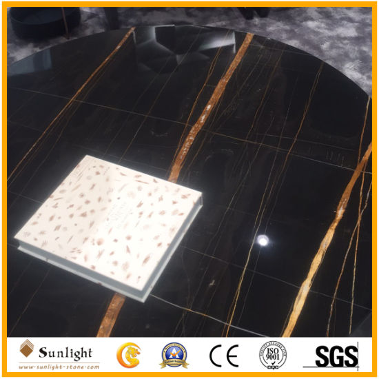 Natural Black/White/Green Marble Round Table Tops for Houses, Coffee Shop, Hotel