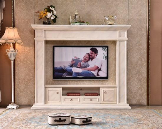 China Entertainment Center With Tv Stand Electric Fireplace With