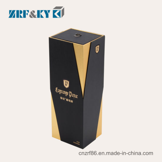 Wholesale Cardboard/Greyboard/Corrugated Paper Red/Black/Gold Gift Packaging Wine/Liquor/Cocktails/Whisky/Champagne Boxes