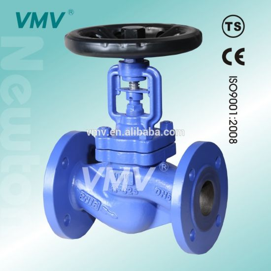 Cast Iron DIN Dn100 Pn16 Precision Angle Bellow with Flanges Low Pressure Welding Water Steam pictures & photos