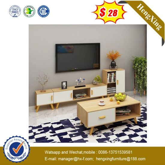 Modern TV Cabinet Wooden Coffee Table Home Hotel Dining Living Room Furniture