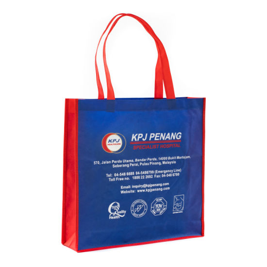 PP Non Woven Shopping Tote Grocery Supermarket Recyclable Bag