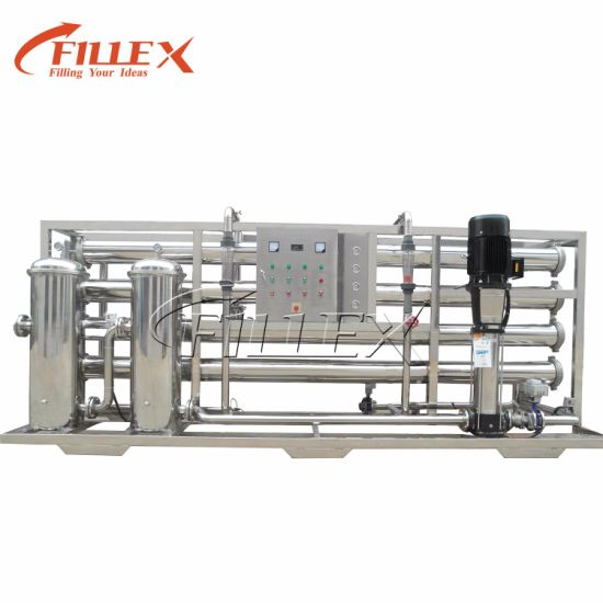 China Stainless Steel Industrial Pure Water Filter Plant RO