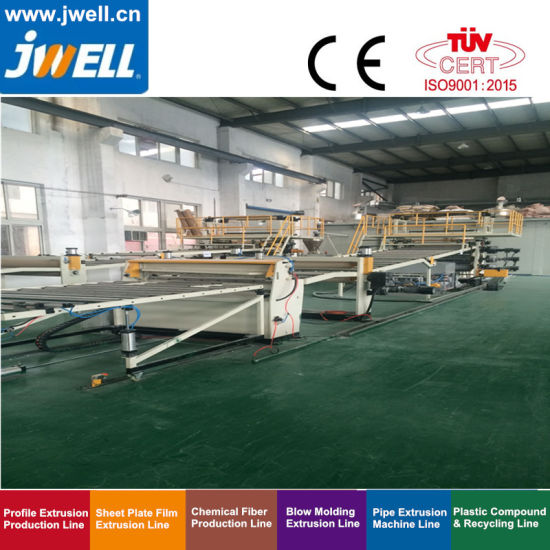 PVC Free Foaming/UV Imitation Marble Board Extrusion Line/Machine/Extruder