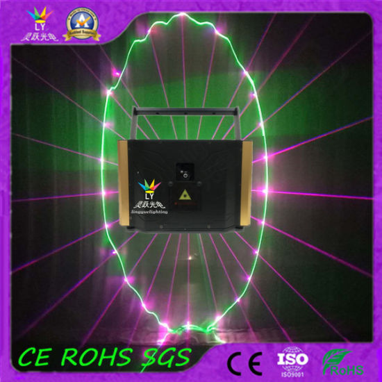 4W Indoor DJ Landmark RGB Animation Laser Light