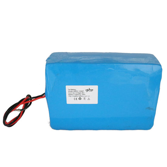 High Power 18ah 36V LiFePO4 Battery Pack for Electric Bike