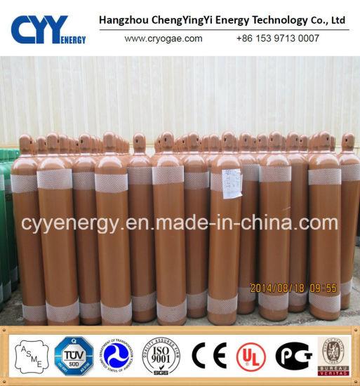 Nitrogen Oxygen Argon Seamless Steel Gas Cylinder