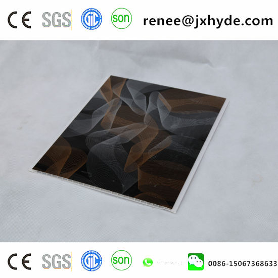 Wooden Pattern Lamination PVC Panel PVC Ceiling Panel and Wall Panel (RN-184) pictures & photos