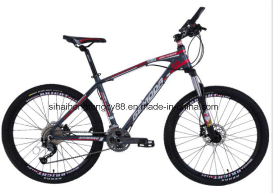 26inch 27 Speed Alloy MTB Bicycle with Suspension Fork Sh-M001 pictures & photos
