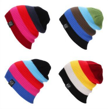 Custom Fashion Colorful Knitted Cap in Various Size, Material and Design