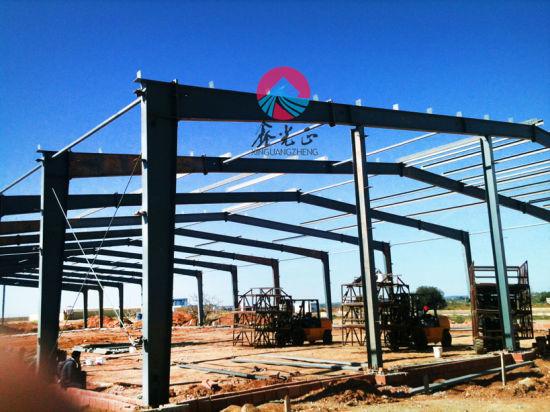 Steel Workshop/Warehouse/ Steel Structure Building/Prefabricated Steel House (SS-14536)