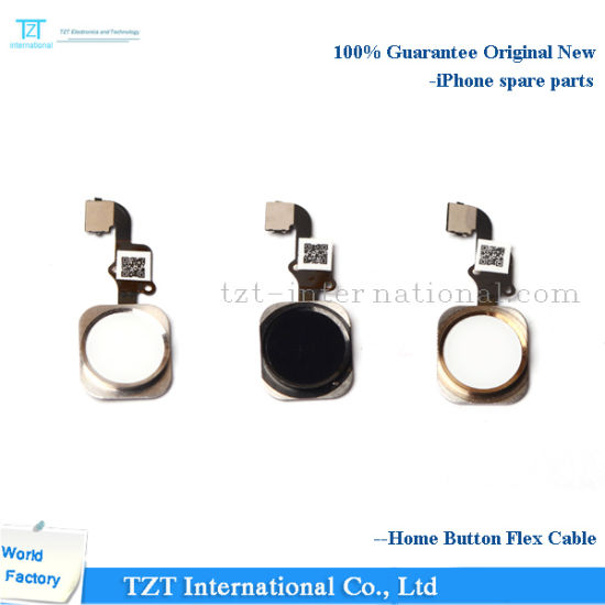 Mobile Phone Home Button Flex Cable for iPhone 4/5/6