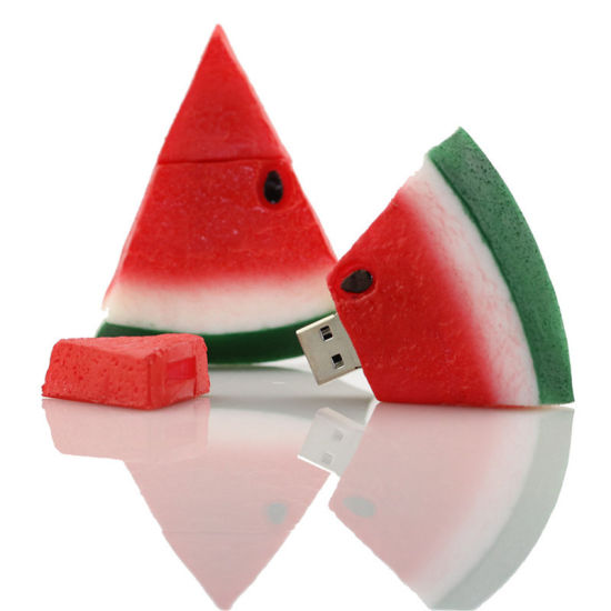 Pen Drive Red Fruit USB Flash Drive Memory Stick/Thumb 4G 8g 16g 32g 64G Watermelon Flash Pendrive Key U Disk External Storage pictures & photos