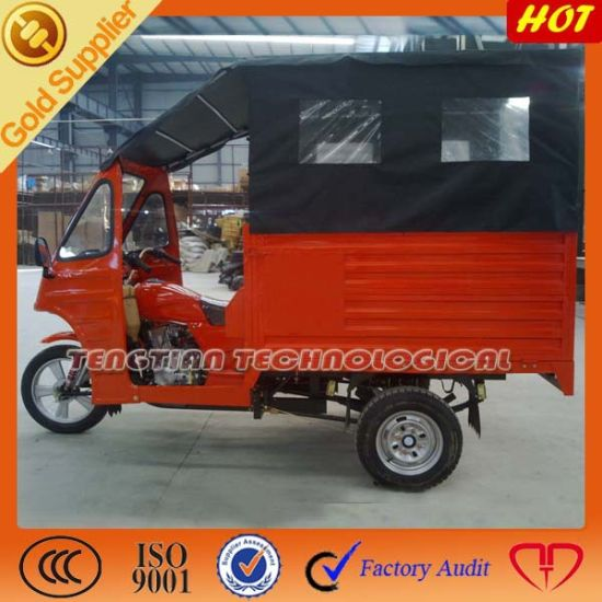 China High Quality Closed Adults 6 People Passenger Tricycle pictures & photos