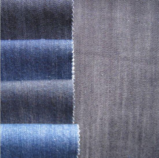 100% Cotton Slub Denim Fabric for Jeans and Jackets