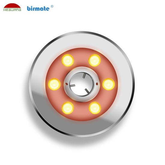 SS316L Stainless Steel 6W DC24V LED Underwater Fountain Pool Light