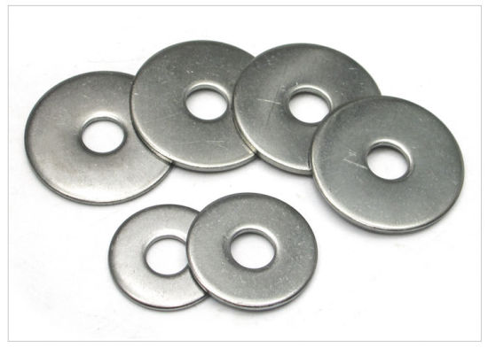China Stainless Steel 304 Large Size Flat Washer Gasket Ring - China ...