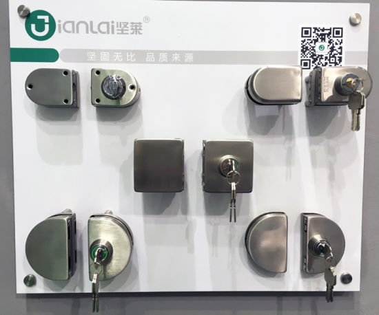 China Zinc Alloy Commercial Glass Double Door Lock China Stainless