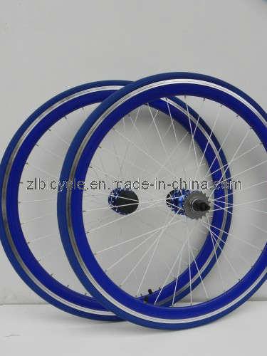 High Quality 700c Fix Gear Bike CNC Wheel Sets