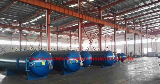 New High Quality Level Rubber Autoclave with PLC Automatic Control System pictures & photos