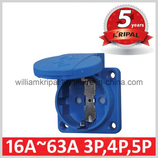 IP54 Schuko Power Socket Outlet