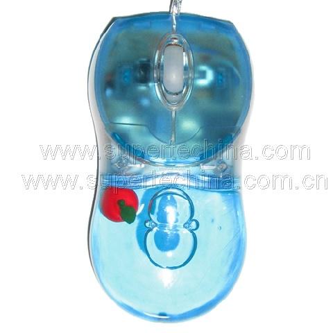 Aqua Optical Oil Gift Mouse (S3A-3111A)