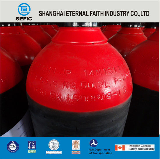 High Pressure Seamless Steel Gas Cylinder (ISO9809 229-50-200) pictures & photos