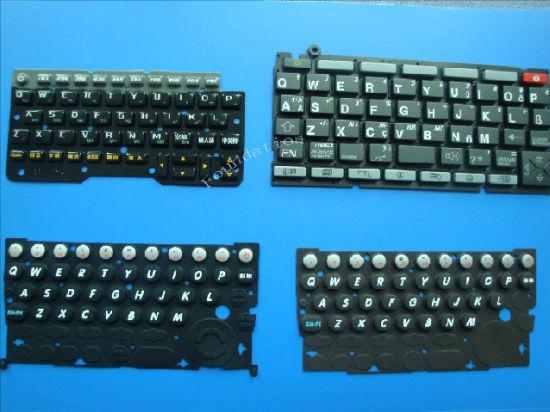 High Sensivity Key Control Overlay Silicone Rubber Button Keyboard