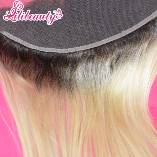 Wholesale Straight 1b/Blonde Virgin Hair Brazilian 1b/613# Lace Frontal pictures & photos