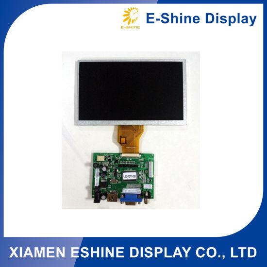 "7 "" TFT LCD Monitor Display Panel Screen 7 segment HDMI LCD display module for sale"
