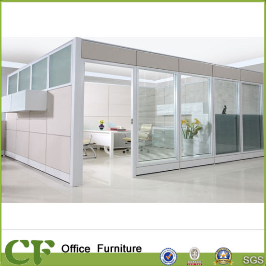 Architectural Interior Glass Partition Wall Systems