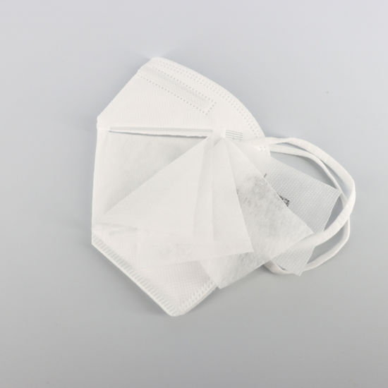 Hot Sale PPE Products 5 Ply Disposable Civil KN95 Face Mask for Europe Markets