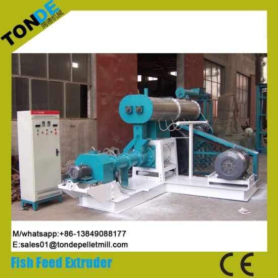 Ce Floating Fish Food Pellet Making Machine Line Extruder pictures & photos