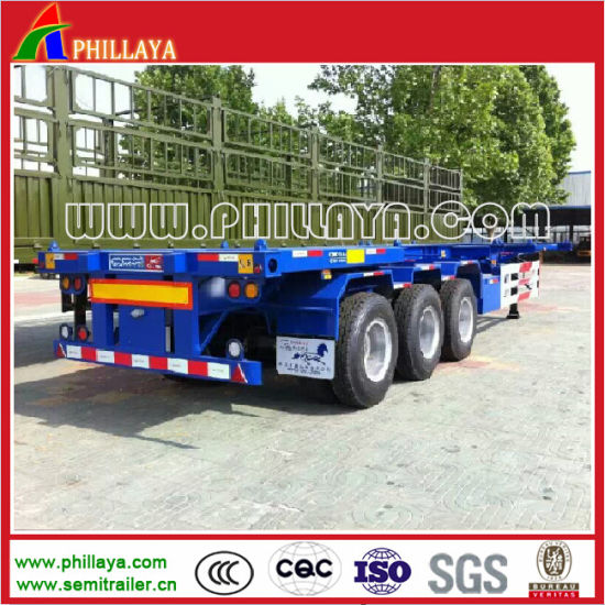 Skeletal 40FT Container Truck Chassis for Semi Trailer pictures & photos