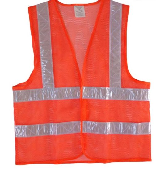 High Visibility Construction Work Wear Reflective Protective Shirts Safety Vest
