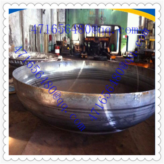 Hot Pressing Steel Half Ball Dished End for Pressure Vessel pictures & photos