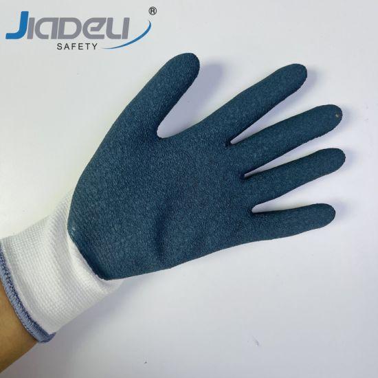 Tree Tools Bamboo Fiber Work Labor Foam Latex Palm Coated Nylon Multipurpose Work Gloves