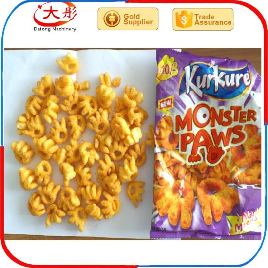 Core Filled Corn Puff Food Snack Machines pictures & photos