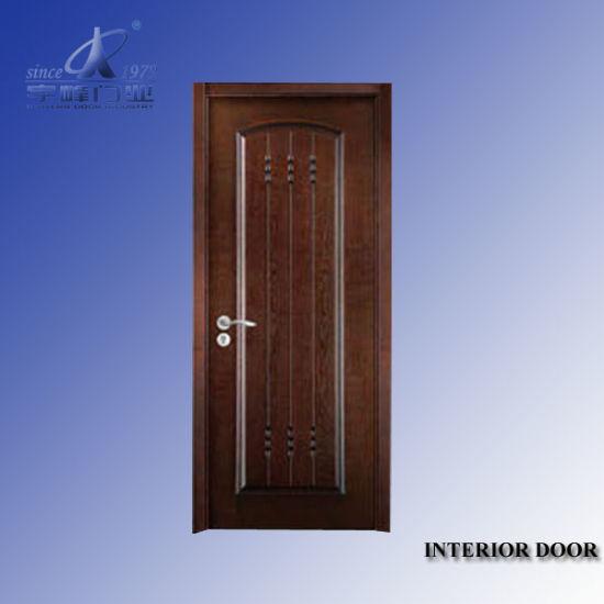 China Interior Door Paint Finish China Wooden Door Solid Wooden Door